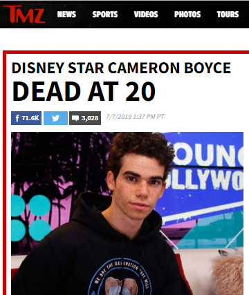 https://www.tmz.com/2019/07/07/cameron-boyce-dead-at-20/